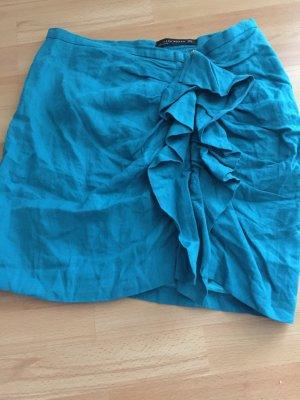 Zara Rock Gr. M mit Rüschen, 1x getragen