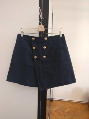 Zara Rock im Military Style mit goldenen Knöpfen