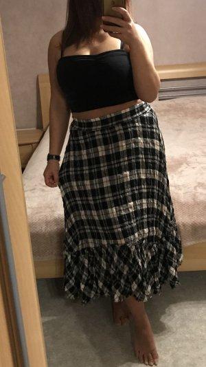 Zara Maxi Skirt black-white