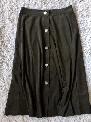 Zara Basic Jupe taille haute multicolore