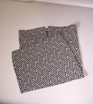 Zara Rock Muster Skirt Midirock Bleistiftrock High Waist