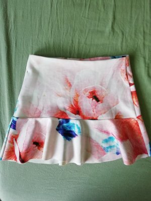 Zara Flounce Skirt multicolored