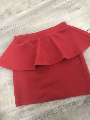 Zara Rock rot mit Schößchen NEU