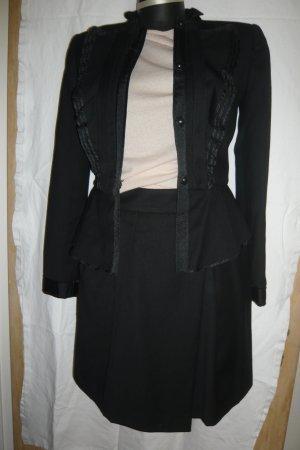 Zara Rock und Jackett  / Blazer Farbe schwarz Größe S