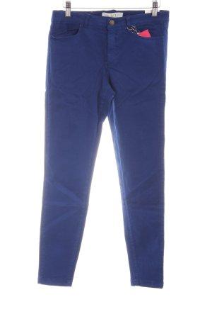 Zara Röhrenhose blau Casual-Look