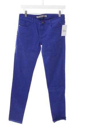 Zara Röhrenhose blau