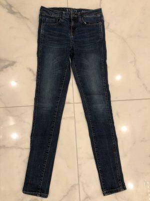 Zara Tube Jeans blue