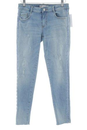 Zara Jeans cigarette bleu clair style décontracté