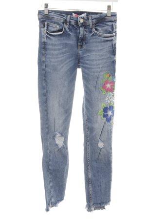 Zara Tube Jeans light blue casual look