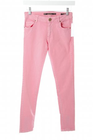 Zara Röhrenjeans pink