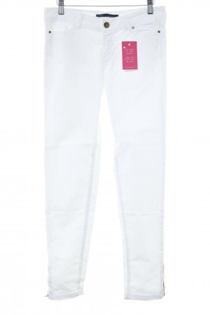 Zara Tube Jeans natural white casual look