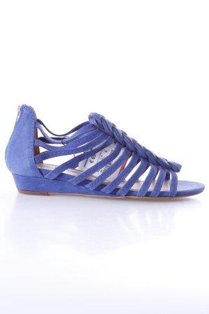 Zara Römersandalen blau