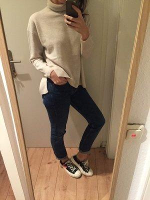 Zara Rollkragen Kaschmir Pulli Knit Cashmere neu! Gr.38/M