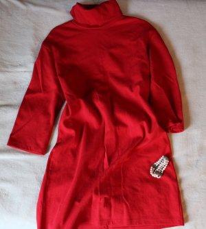 Zara Trafaluc Robe en maille tricotées multicolore coton