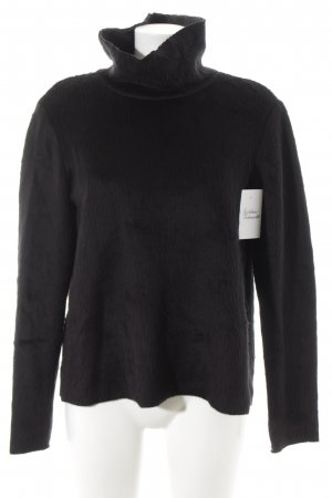 Zara Turtleneck Sweater black casual look