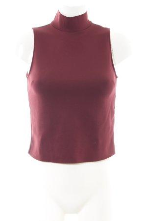 Zara Neckholder Top red business style