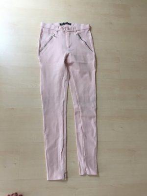 Zara - rosa Hose XS Stretch - enganliegend