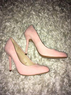 Zara rosa neue Pumps Größe 38 Wildlederoptik