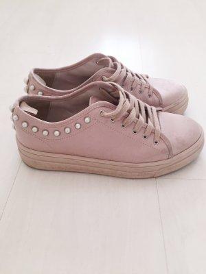 Zara rosa Perlensneaker