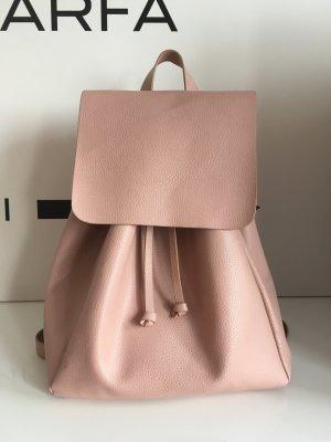 Zara Rucksack Backpack Blogger pastell rosa