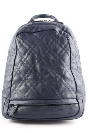 Zara Backpack dark blue classic style