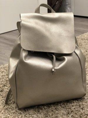 Zara Backpack silver-colored