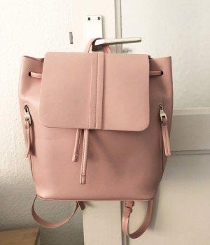 Zara Rucksack in rosa / rosé
