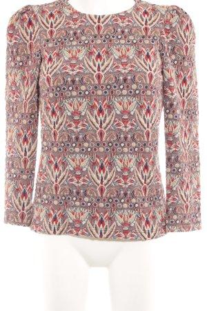Zara Maglione girocollo Motivo Azteco stile casual