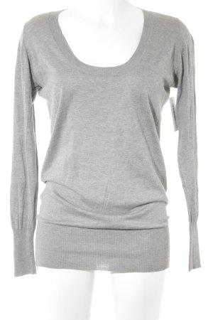 Zara Pull ras du cou gris style décontracté