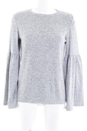Zara Pull ras du cou gris clair style décontracté