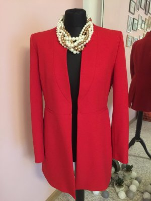 Zara Veste longue rouge