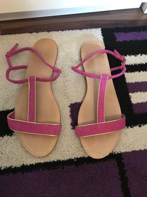 Zara Basic Sandale d'extérieur violet