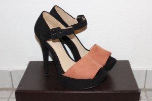 Zara. Sandalen mit Absatz. Größe 38