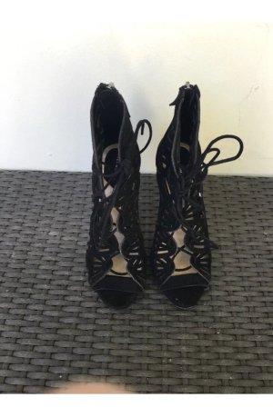 Zara Sandalette gr 36 schwarz High Heels