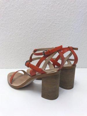 Zara Sandaletten Echtleder Wenig getragen