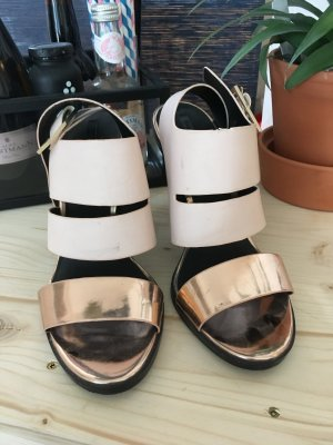 Zara High Heel Sandal multicolored imitation leather