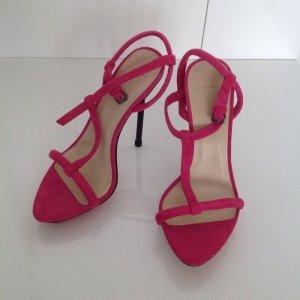 Zara Sandaletten Pink Gr. 37