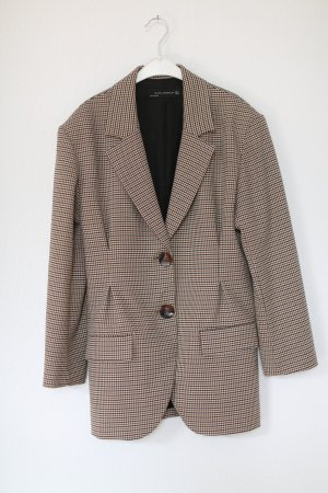 Zara Blazer Boyfriend marrón-color bronce