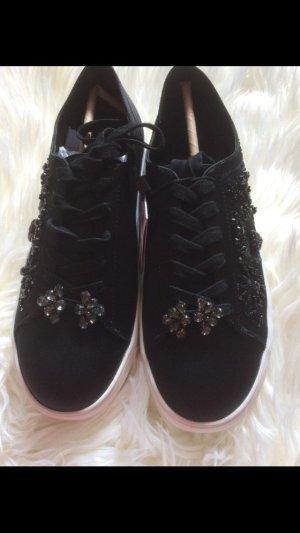 Zara Satin Steinchen Sneaker