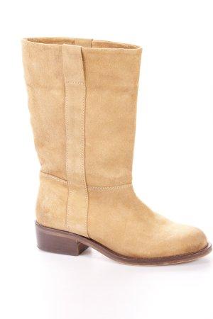 Zara boots ocher