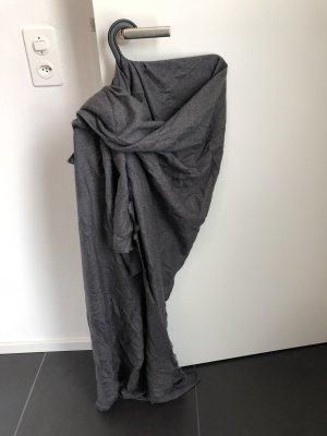 ZARAKNIT Sciarpa grigio scuro-grigio