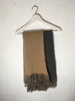 Zara Schal/ Dickes Tuch Braun - Grau