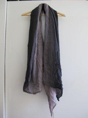 Zara Halsdoek zwart-zilver Katoen