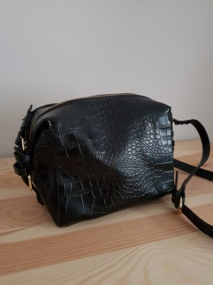 Zara Crossbody bag black-gold-colored