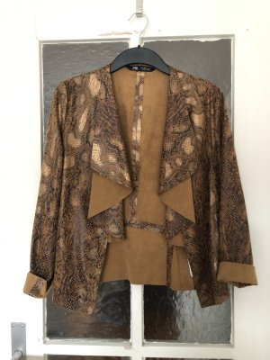 Zara Korte blazer bruin