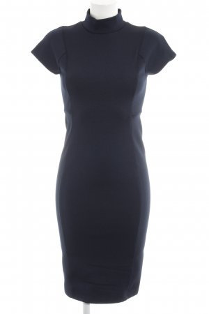 Zara Tube Dress dark blue elegant