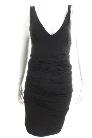 Zara Vestido de tubo negro elegante