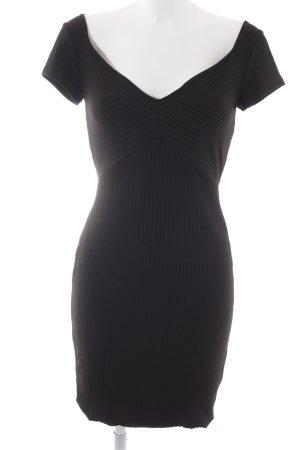 Zara Tube Dress black structure style