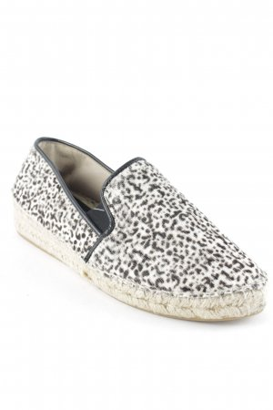 Zara Slip-on noir-marron clair motif léopard style extravagant