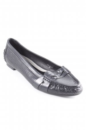 Zara Schlüpfschuhe schwarz schlichter Stil